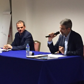 Guillaume Légaut et Jean-Marie Ballenghien